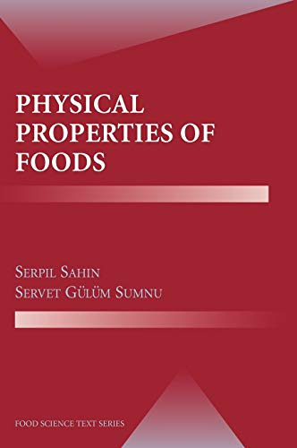 9780387307800: Physical Properties of Foods (Food Science Text Series)