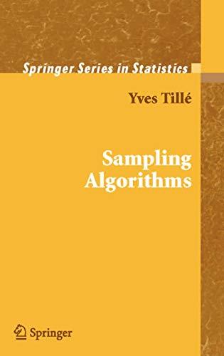 9780387308142: Sampling Algorithms