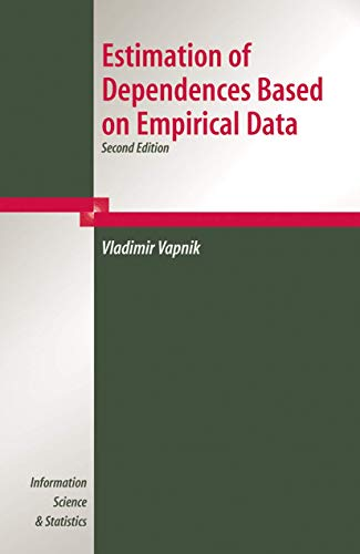 9780387308654: Estimation of Dependences Based on Empirical Data (Information Science and Statistics)