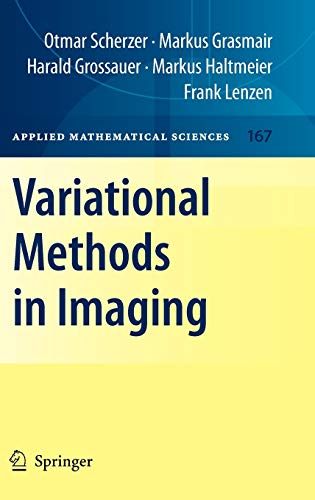 9780387309316: Variational Methods in Imaging (Applied Mathematical Sciences)