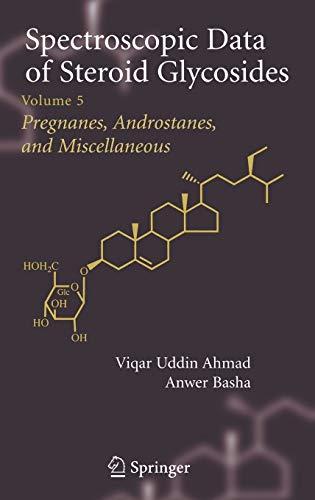 Spectroscopic Data of Steroid Glycosides 5: Anwer Basha