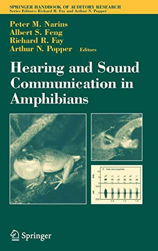 9780387325217: Hearing And Sound Communication in Amphibians
