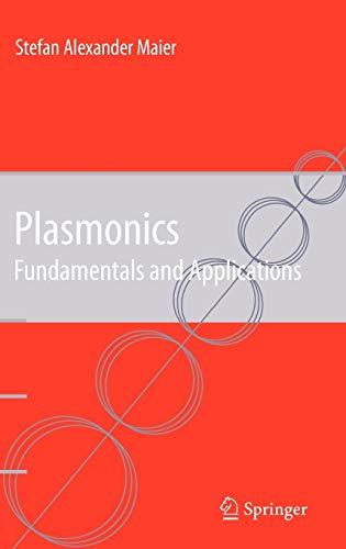 9780387331508: Plasmonics: Fundamentals and Applications