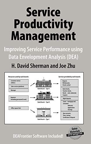 9780387332116: Service Productivity Management: Improving Service Performance using Data Envelopment Analysis (DEA)