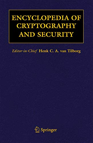 9780387335575: Encyclopedia of Cryptography and Security