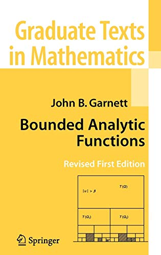 9780387336213: Bounded Analytic Functions (Graduate Texts in Mathematics)