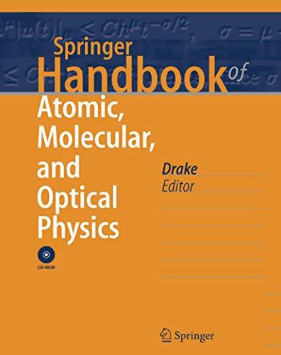 9780387336343: Springer Handbook of Atomic, Molecular, and Optical Physics (Springer Handbooks)