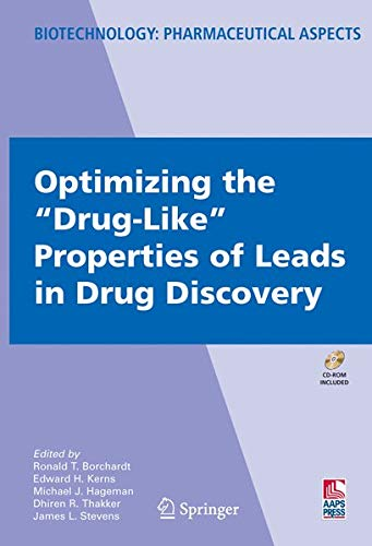 """Optimizing the """"Drug-Like"""" Properties of Leads in Drug Discovery: Ron Borchardt"""