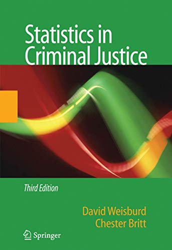 9780387341125: Statistics in Criminal Justice