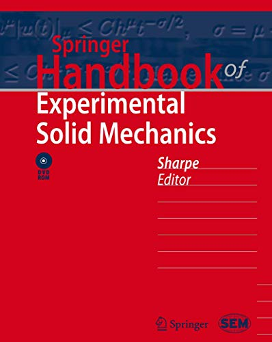 9780387343624: Springer Handbook of Experimental Solid Mechanics