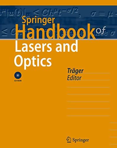 9780387345574: Springer Handbook of Lasers and Optics