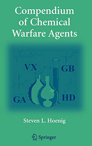 9780387346267: Compendium of Chemical Warfare Agents