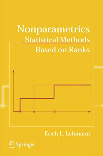 9780387352121: Nonparametrics: Statistical Methods Based on Ranks