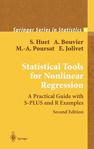 9780387400815: Statistical Tools for Nonlinear Regression: A Practical Guide With S-PLUS and R Examples (Springer Series in Statistics)