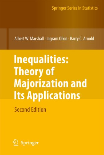 9780387400877: Inequalities: Theory of Majorization and Its Applications (Springer Series in Statistics)