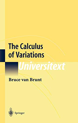 9780387402475: The Calculus of Variations (Universitext)