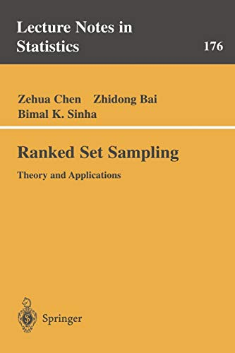 Ranked Set Sampling: Theory and Applications (Lecture: Zehua Chen