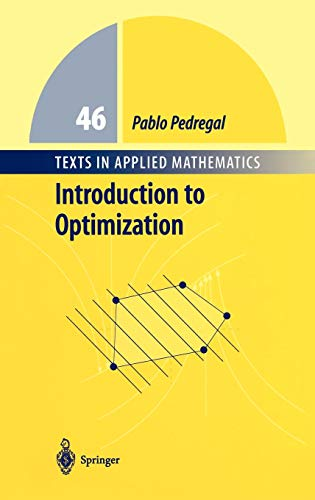 9780387403984: Introduction to Optimization (Texts in Applied Mathematics)