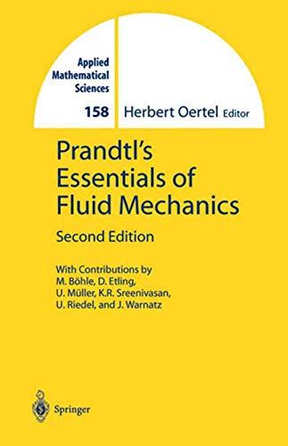 9780387404370: Prandtl's Essentials of Fluid Mechanics (Applied Mathematical Sciences)