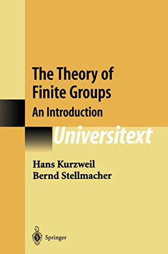 9780387405100: The Theory of Finite Groups: An Introduction (Universitext)
