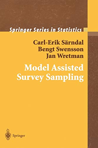 9780387406206: Model Assisted Survey Sampling (Springer Series in Statistics)