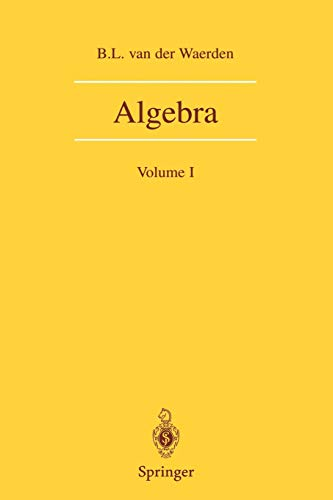 9780387406244: Algebra: Volume I: Volume 1