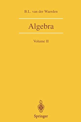 9780387406251: Algebra: Volume II