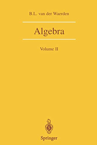 9780387406251: Algebra: Volume II: v. 2