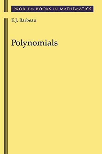 9780387406275: Polynomials