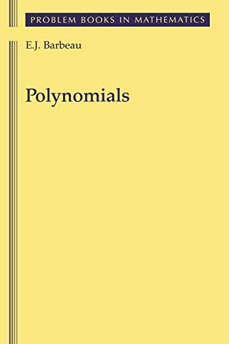 9780387406275: Polynomials (Problem Books in Mathematics)
