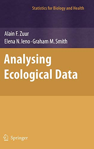 9780387459677: Analyzing Ecological Data (Statistics for Biology and Health)