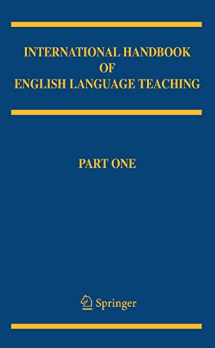 9780387463001: International Handbook of English Language Teaching (Springer International Handbooks of Education)