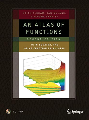 9780387488066: An Atlas of Functions: with Equator, the Atlas Function Calculator