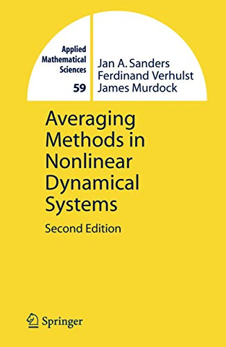 9780387489162: Averaging Methods in Nonlinear Dynamical Systems (Applied Mathematical Sciences)