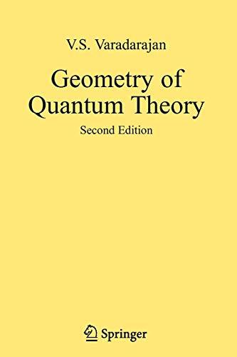 9780387493855: Geometry of Quantum Theory