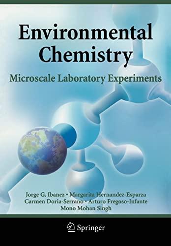 9780387494920: Environmental Chemistry: Microscale Laboratory Experiments