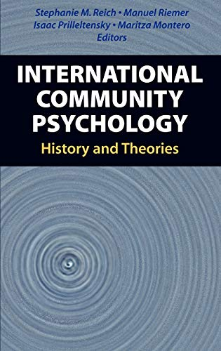 9780387494999: International Community Psychology: History and Theories