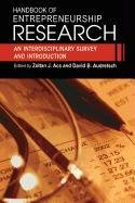 9780387504254: Handbook of Entrepreneurship Research