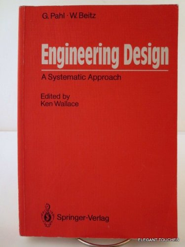 9780387504421: Engineering Design: A Systematic Approach