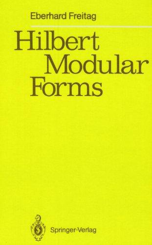 9780387505862: Hilbert Modular Forms