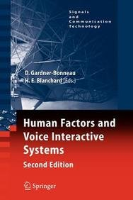 9780387506326: Human Factors and Voice Interactive Systems (Perspectives in Metamathematics Logic)