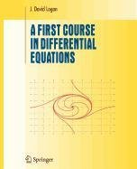 9780387507378: A First Course in Differential Equations