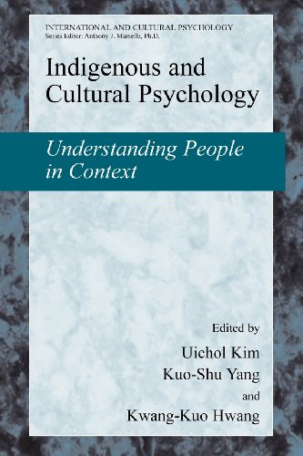 9780387509327: Indigenous and Cultural Psychology (Lecture Notes in Chemistry)