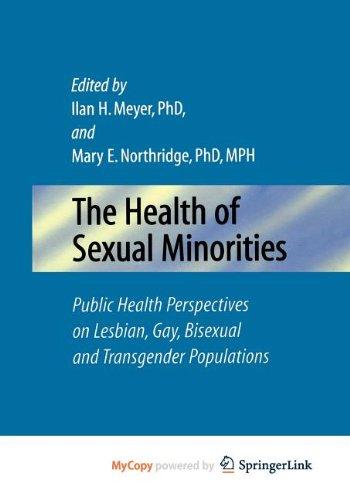 9780387509587: The Health of Sexual Minorities