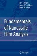 9780387510019: Fundamentals of Nanoscale Film Analysis