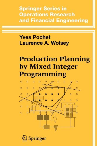 9780387510569: Production Planning by Mixed Integer Programming