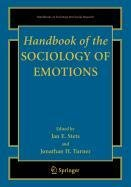 9780387511191: Handbook of the Sociology of Emotions