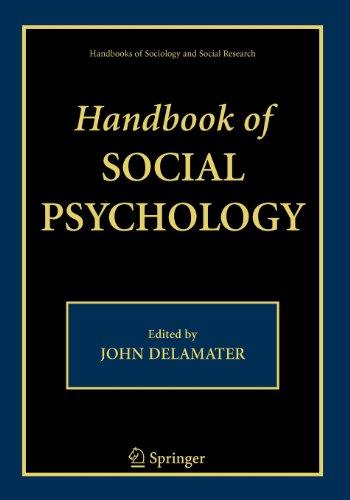 9780387512389: Handbook of Social Psychology