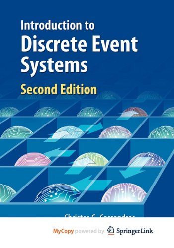 9780387513164: Introduction to Discrete Event Systems (Chemistry of Plant Protection)