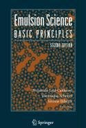 9780387515960: Emulsion Science
